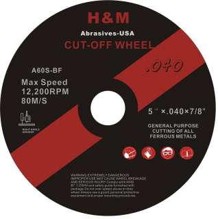 100 5x.04 x7/8 Cut off Wheels for Stainless Steel &. Metal Cutting