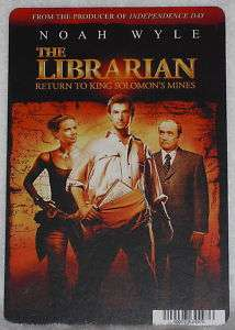 The Librarian Return Studio Movie Card Ad Pic Noah Wyle