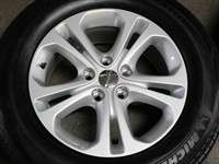 Four 2011 Dodge Durango Factory 18 Wheels Tires Rims OEM 1SZ24TRMAA