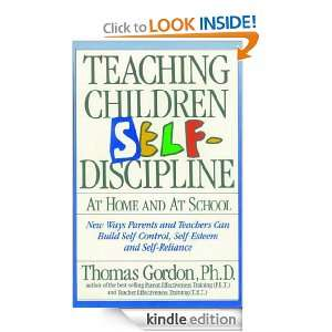 Teaching Children Self Discipline At Home and At School Thomas