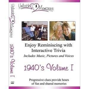 S&S Worldwide Unlock the Memories Dvd, 1940s Volume 1