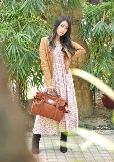 Gossip Girl Blair Real Leather Handbag Satchel Bag