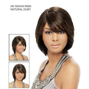 : Its a Wig 100% Indian Remi Human Hair Natural Duby Color 1: Beauty