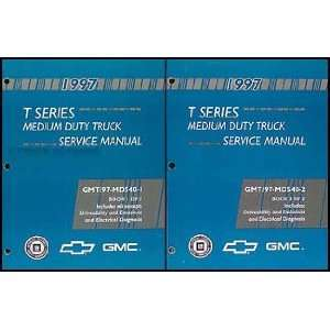 1997 T Series Tilt Cab Medium Duty Truck Service Manual