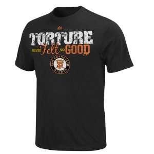 San Francisco Giants Black Rivalry Torture Never Felt So Good T