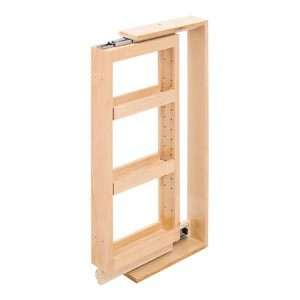 Rubbermaid pull down spice rack storage bin kitchen cabinet cook jar - Base cabinet pull out spice rack ...