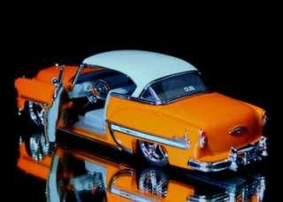 1953 Chevy Bel Air Dub City OLD SKOOL 1:24 Scale   Orange