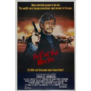 The Evil That Men Do   Movie Poster   27 x 40: Home