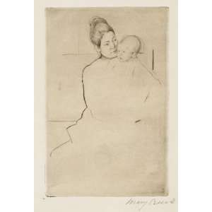 Mary Stevenson Cassatt   24 x 36 inches   Gardner H Home & Kitchen