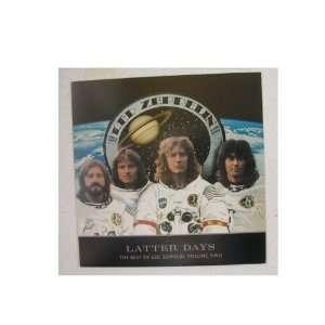 Shot OLDER Astronauts Robert Plant Jimmy Page John Paul Jones John