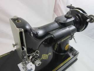 Vintage Singer Featherweight Sewing Machine 221 1 Everything Included