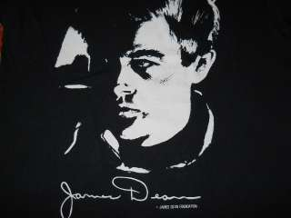 vintage JAMES DEAN PORTRAIT SIGNATURE SOFT t shirt M