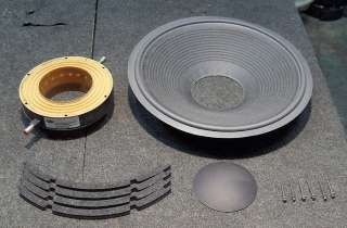 Gauss 15 4583F woofer subwoofer speaker recone kit