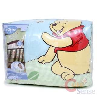 Winnie the Pooh Friends Baby Crib Bedding Comforter 4pc