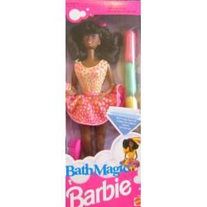 Bath Magic Barbie (African American) Toys & Games
