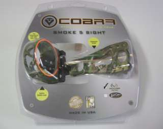 COBRA ARCHERY SMOKE BOW SIGHT 5 PIN RH APG NEW 010989667125