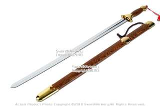 Quality Tai Chi Kung Fu Chinese Jian Spring Steel Sword