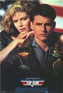 Top Gun 27 x 40 Movie Poster Tom Cruise, McGillis, C