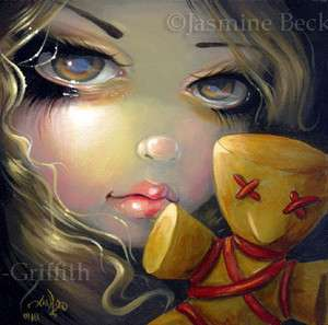 Fairy Face 134 Jasmine Becket Griffith Art Voodoo Doll Fantasy SIGNED