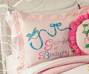 Girls Quilt Disney Princess Cinderella Belle Bedding
