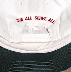 Hard Rock Cafe WHITE Baseball HAT STP Logo UPick INTL