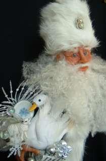 OOAK SANTA Claus Father Christmas 21 jennilynnhill Old World Art Doll