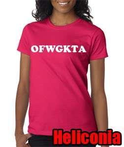 OFWGKTA Odd Future Tyler Creator Ladies Tee Shirt Swag Hip Hop Wolf