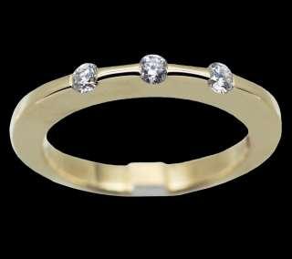 Roberto Coin Classica Parisienne 18k Yellow Gold Diamond Ring
