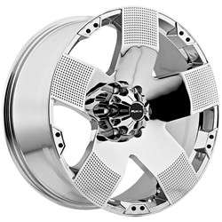 Hyjak chrome wheels rims 8x6.5 8x165 Dodge Ram 2500 Hummer H2