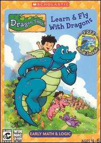 Dragon Tales Learn & Fly with Dragons PC CD math game