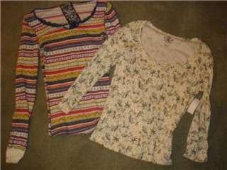 11 Piece Lot Juniors size Medium Shirts/Tops/T Shirts