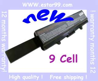 Cell battery for Dell Inspiron 1440 1750 17 G555N 6600mah
