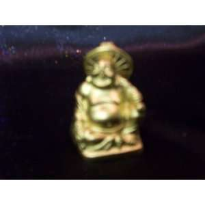 Golden Pocket Buddha   Safe Journey and Good Wishes