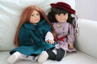 AMERICAN GIRL *RETIRED* Samantha & Felicity DOLLS, TRUNK, BED, CLOTHES