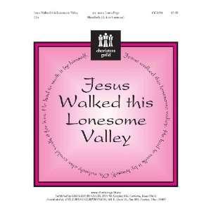 Jesus Walked This Lonesome Valley (Handbell Sheet Music, Handbell 3 5