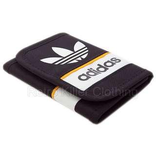 Adidas Originals Trefoil Wallet Retro Black Mens NEW UK