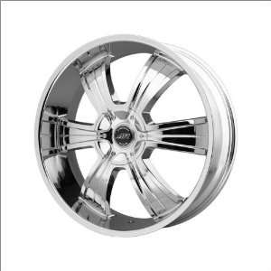 American Racing AR894 20x8.5 Chrome Wheel / Rim 5x115 & 5x120 with a