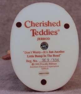 CHERISHED TEDDIES JERROD BOY BEAR ON CAMEL CAROUSEL FIGURINE LITTLE