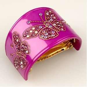 Voler Purple   Bellini Collection (Hand set Swarovski Crystals, Hair