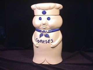 Pillsbury Doughboy Cookie Jar with Box 1973