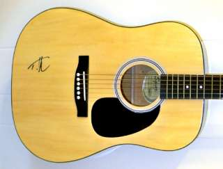 Tim McGraw Autographed Signed FENDER SQUIER Acoustic Guitar with EXACT