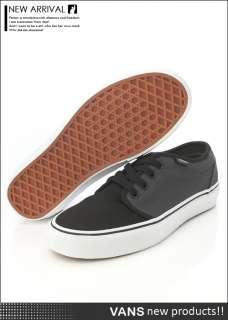 BN VANS 106 Vulcanized Dark Shadow / Black Shoes #V270
