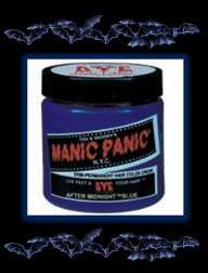 MANIC PANIC~Cream Hair Color/Dye~AFTER MIDNIGHT BLUE