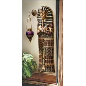 King Tut Sarcophagus Wall Sculpture:  Home & Kitchen