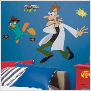 Phineas Ferb AGENTP PERRY PLATYPUS Wall Decals Stickers 034878113449