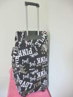 NWT Victoria Secret PINK Travel Wheelie Luggage Bag