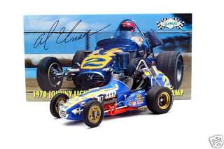 AL UNSER JOHNNY LIGHTNING # 2 VINTAGE DIRT CHAMP RACE CAR GMP 1:12