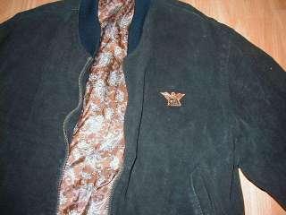 GA Giorgio Armani vintage suede jacket bomber original