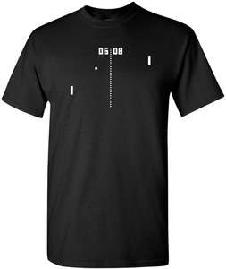 PONG T shirt VINTAGE ATARI ARCADE SHIRT RETRO 80s TEE