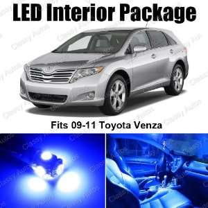 Toyota Venza Blue Interior LED Package (8 Pieces
